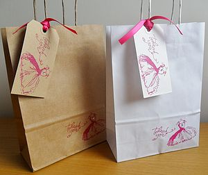 'Thankyou' Gift Bag And Tag : Two Sizes - shop by category