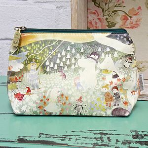 Moomin Dangerous Journey Make Up Bag - make-up & wash bags