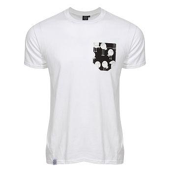 Doodle Bird Pocket T Shirt