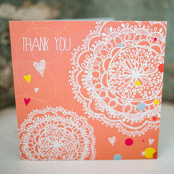 Limited Edition 'Thank You' Card