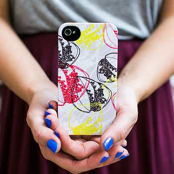 Organic Retro Leaves Phone Case