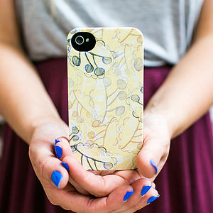 Ghost Leaves Phone Case - tech accessories for her