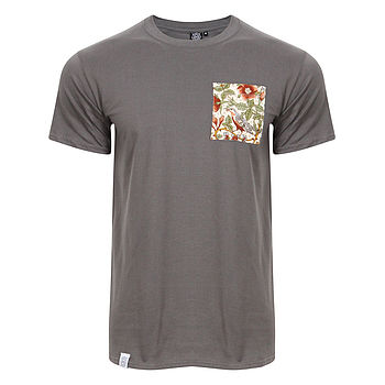 Liberty Print Pocket T Shirt