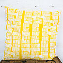 Sketchy Stems Large Reversible Cushion Cover
