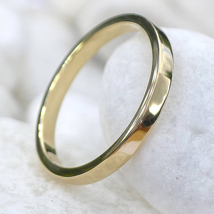 Eco Friendly 18ct Gold Wedding Ring