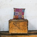 Doodle Squares Cushion Cover