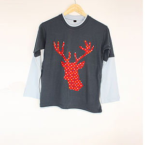 Handsome Stag Long Sleeve Top