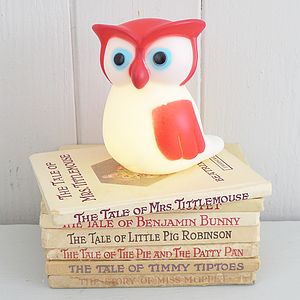 Owl Night Light - children's lighting