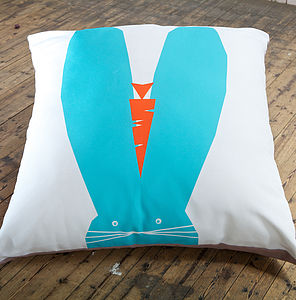 Alfie Rabbit Giant Floor Cushion - cushions