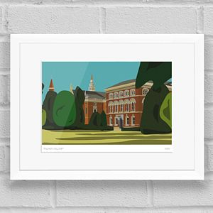 Dulwich College Print - posters & prints