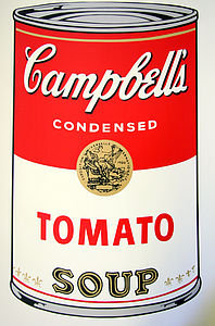 Campbell's Tomato Soup Kitchen Print - contemporary art
