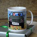 Personalised Four Wheel Drive Mug