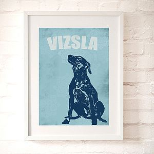 Vizsla Dog Art