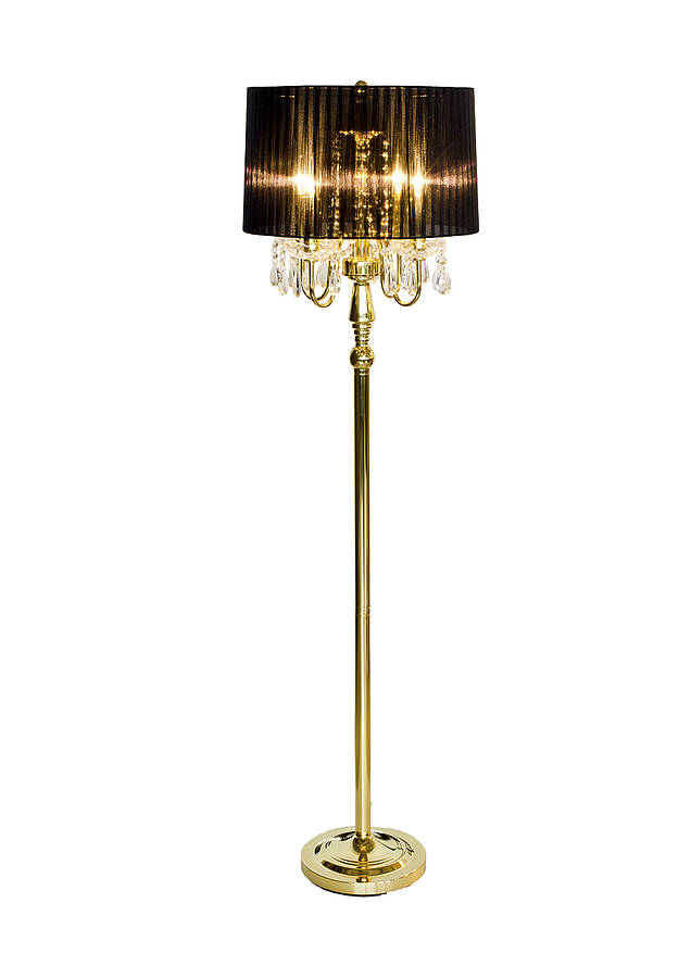 Art deco style floor lamp by made with love designs ltd for Art deco style lamp