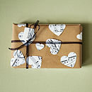 Musical Score Gift Wrap