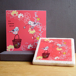 Love Birds Gift Set - engagement cards