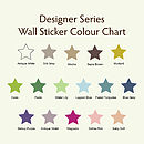 Pack Of Decorative Wall Stickers