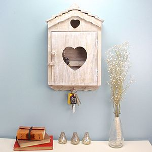 Wooden Key Bird House - kitchen accessories