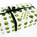 Thumb brussels sprout wrapping paper pack