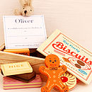 Wooden Biscuits With Personalised Invitations