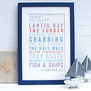 Personalised Perfect Holiday Framed Print