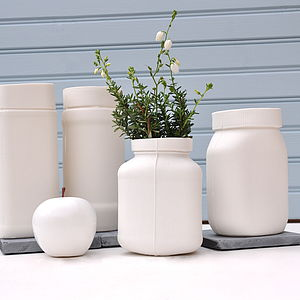 Porcelain Storage Jar - tins, jars & bottles
