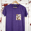 Purple Pick A Pocket T Shirt