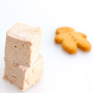 Gingerbread Marshmallows - food & drink gifts