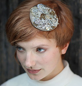 Bridal Circular Headpiece
