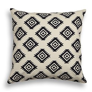 Mandore Cotton Cushion Cover - patterned cushions