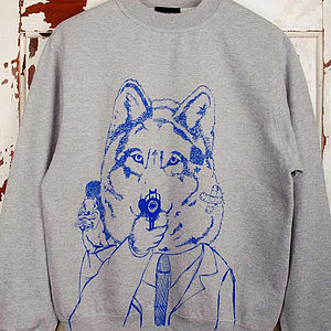 Disgruntled Wolf Jumper - jumpers & cardigans