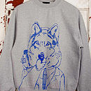 Disgruntled Wolf Jumper