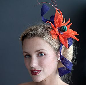 Flower Twist Headpiece - hats, hairpieces & hair clips