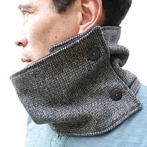 Contemporary Tweed Neckwarmer - hats, scarves & gloves