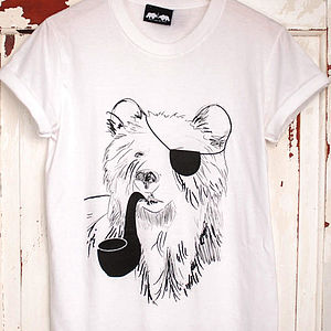 Pirate Bear T Shirt - women's fashion