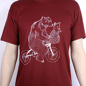 Bear Phone Home T Shirt - women's fashion