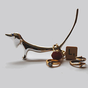 Dachshund Dog Ring Holder