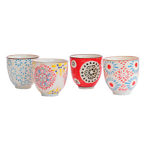 Bohemia Tea Cups Set - dining room