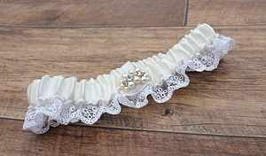 2014 Collection Luxury 'Luna' Bridal Garter