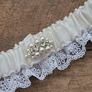 New Collection Luxury 'Luna' Bridal Garter