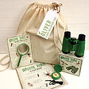 Personalised Nature Trail In A Bag
