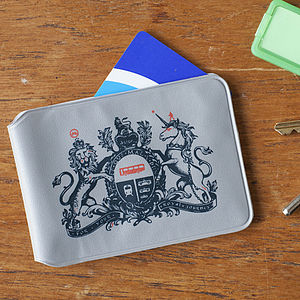 'For Your Royal Journey' Travel Card Holder - bags & purses
