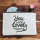 Lovely Makeup Bag