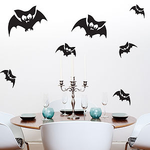 Bats Wall Sticker Pack