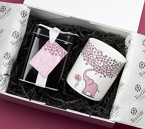 New Parents Tea Gift Set - food & drink gifts