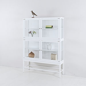 Scandinavian Glass Cabinet