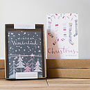 Boxed Set Of 10 Contemporary Christmas Cards