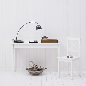 Console Table In White Or Black - office & study
