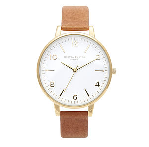 Big Dial Watch With Large Face - women's jewellery