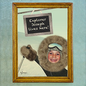 Personalised Explorer Poster